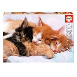 Puzzle 500 pièces chatons