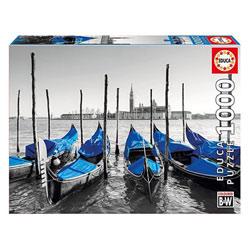 Puzzle 1000 pièces gondoles à Venise