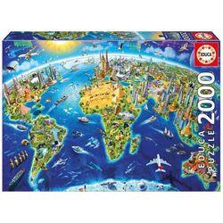 Puzzle 2000 pièces, les repères mondiaux