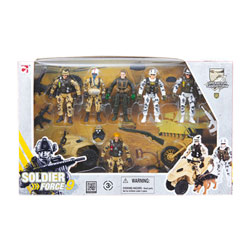 Coffret figurines de combat
