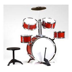 Batterie 5 tambours avec tabouret