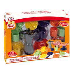 Coffret dinette 21 pièces café
