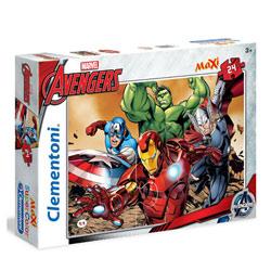 Avengers-Maxi puzzle color 24 pièces