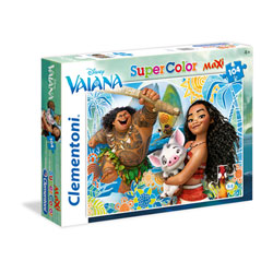 Puzzle 104 pièces Vaiana - Disney Princesses