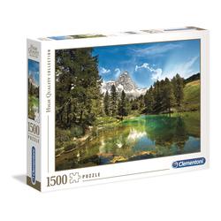 Puzzle 1500 pièces - Le Lac Bleu