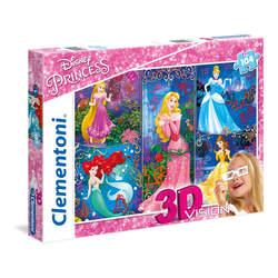 Puzzle 3D 104 pièces Disney Princesses