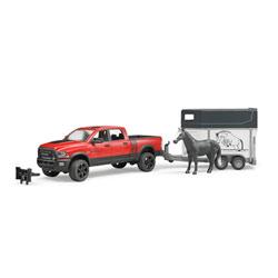 Véhicule Ram 2500 avec van et cheval