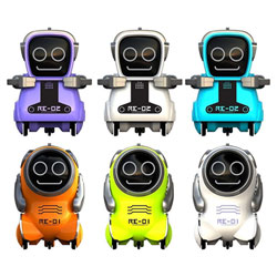Mini Robot interactif - YCOO - Pokibot - 8 cm