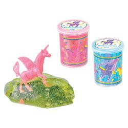 Pâte Slime paillettes licorne