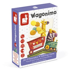 Jeu d'association Wagonimo