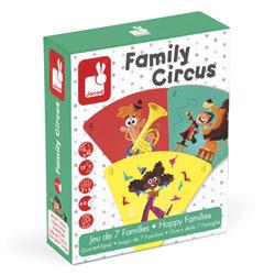 Jeu de 7 familles Family Circus