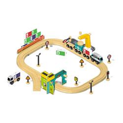 Circuit train de marchandises