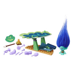 Trolls-Mini set de campement de Branche