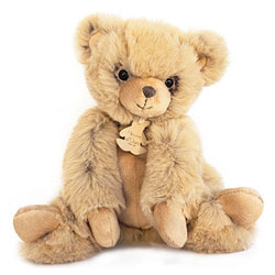 Softy - Peluche Ours miel 25 cm