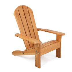 Chaise Adirondack miel