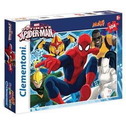 Spiderman-Puzzle 104 pièces avec application