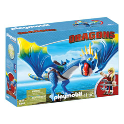 9247 - Playmobil Dragons - Astrid et Tempête
