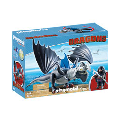 9248 - Dragons Drago et son dragon de combat - Playmobil Dragons