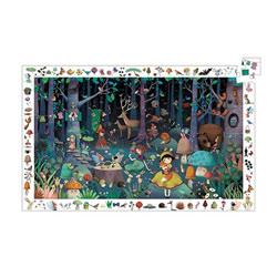 Puzzle 100 pièces d'observation forêt enchantée