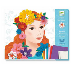 Set créatif Fleurs de papier : Jeunes filles en fleurs