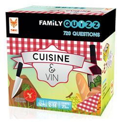 Family Quizz cuisine et vin