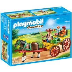 6932 - Calèche avec attelage Playmobil Country