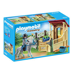6935 - Box avec cheval Appaloosa Playmobil Country