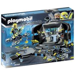 9250 - Playmobil Top Agents Centre de commandement du Dr. Drones