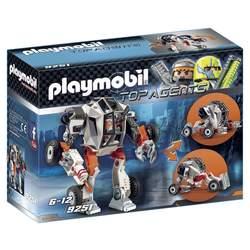 9251 - Playmobil Top Agents Chef Spy Team avec Robot