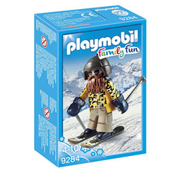9284 - Playmobil Family Fun Skieur avec snowblades