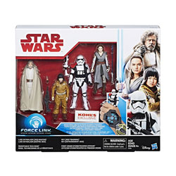 Star Wars pack de 4 figurines