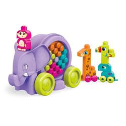Mega Bloks-La Parade de l'éléphant violet