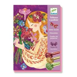 Tableaux à pailleter parfum des fleurs