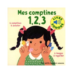Mes comptines 1, 2, 3