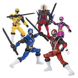 Power Rangers-Figurine 12 cm Ninja Steel