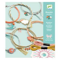 Bracelets Céleste Kumihimo