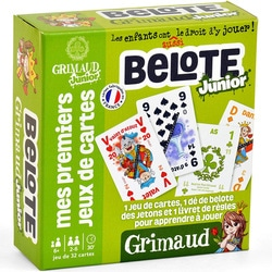 Jeu de cartes Belote Junior
