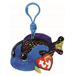 Beanie boo's-Porte-clés Aqua le poisson