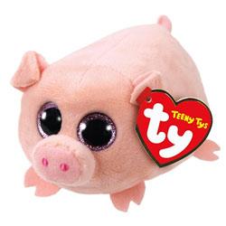 Peluche Tenny tys - Curly le cochon 8 cm