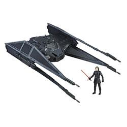 Star Wars 8-Vaisseau Tie Silencer et figurine Kylo Ren