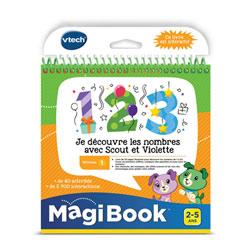 Magibook - Je découvre les nombres avec Scout