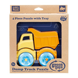 Green Toys-Puzzle 3D camion