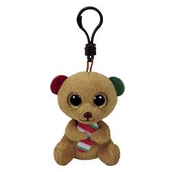 Porte clés Beanie Boo's - Bella l'ours brun