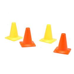 Set 4 cônes de chantier