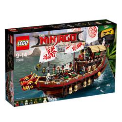 70618 - LEGO® NINJAGO Le QG des ninjas