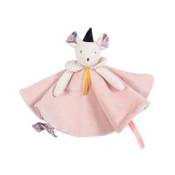 Doudou souris rose apprentie sorcière