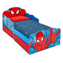 Lit enfant P'tit Bed Design Spider-man avec rangements
