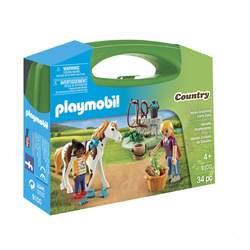 9100- Valisette palefrenières Playmobil