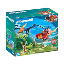 9430 - Playmobil Hélicoptère et Ptéranodon