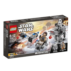 75195 - LEGO® STAR WARS - Microfighter Ski Speeder vs. Quadripode du Premier Ordre